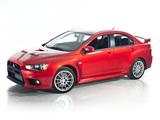 Pictures of Mitsubishi Lancer Evolution GSR US-spec 2008