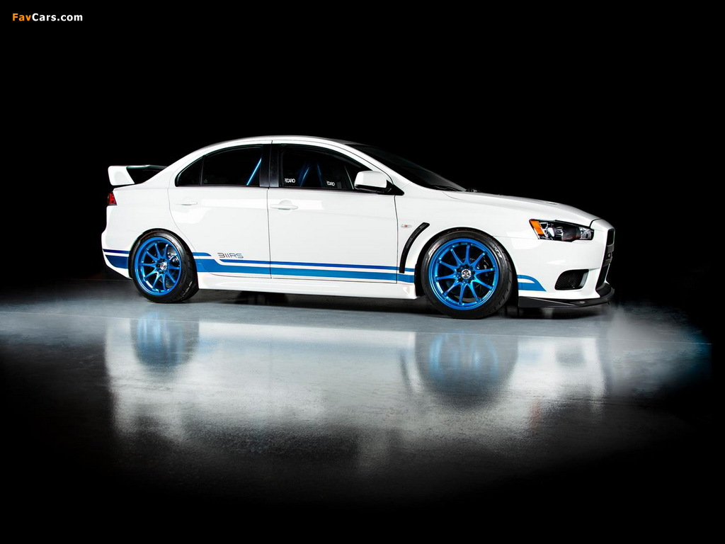 Pictures of IND Mitsubishi Lancer Evolution X 311RS 2013 (1024 x 768)