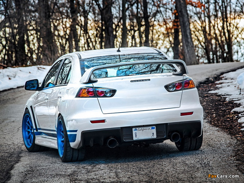 Pictures of IND Mitsubishi Lancer Evolution X 311RS 2013 (800 x 600)