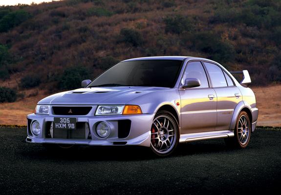 Mitsubishi Lancer Gsr Evolution V Cp9a 1998 Wallpapers