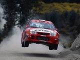 Mitsubishi Lancer RS Evolution VI Gr.A WRC 1999 wallpapers