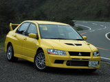 Mitsubishi Lancer GSR Evolution VII (CT9A) 2001 wallpapers