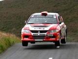 Mitsubishi Lancer Evolution IX Race Car 2005–07 wallpapers
