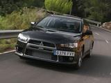Mitsubishi Lancer Evolution X EU-spec 2008 wallpapers