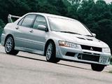 Mitsubishi Lancer Evolution VII FQ-300 2002 wallpapers