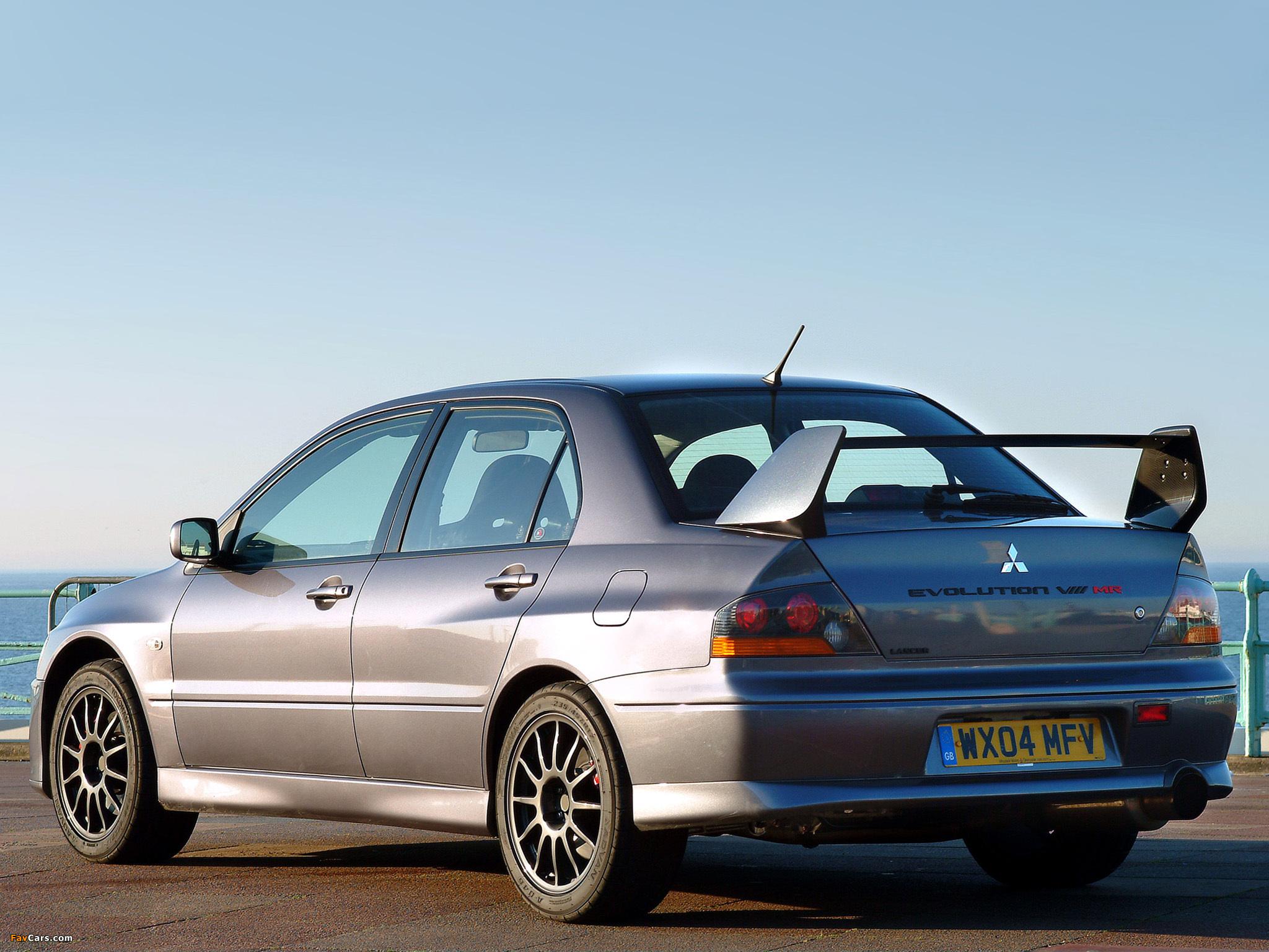 Evo X Mr >> Mitsubishi Lancer Evolution VIII MR 280 2004 wallpapers (2048x1536)