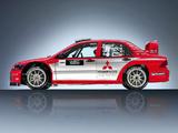 Mitsubishi Lancer WRC04 2004 photos
