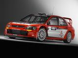 Mitsubishi Lancer WRC05 2005 photos