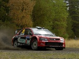 Mitsubishi Lancer WRC05 2005 wallpapers