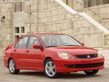Images of Mitsubishi Lancer Ralliart 2003–05