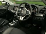 Images of Mitsubishi Lancer Sportback Ralliart UK-spec 2008