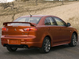 Images of Mitsubishi Lancer Ralliart 2008