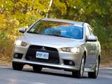 Images of Mitsubishi Lancer SE US-spec 2012