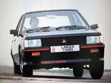 Mitsubishi Lancer 2000 Turbo 1981–87 pictures