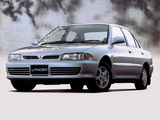Mitsubishi Lancer JP-spec 1991–95 wallpapers