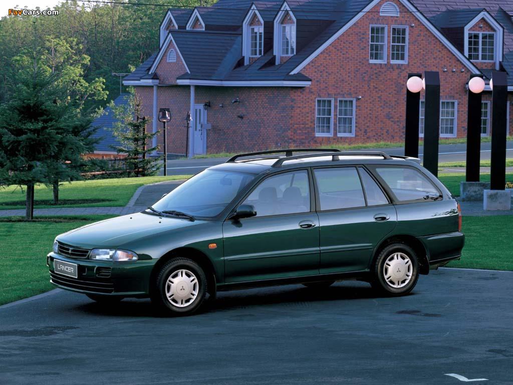 Mitsubishi Lancer Wagon 1992–2000 images (1024 x 768)