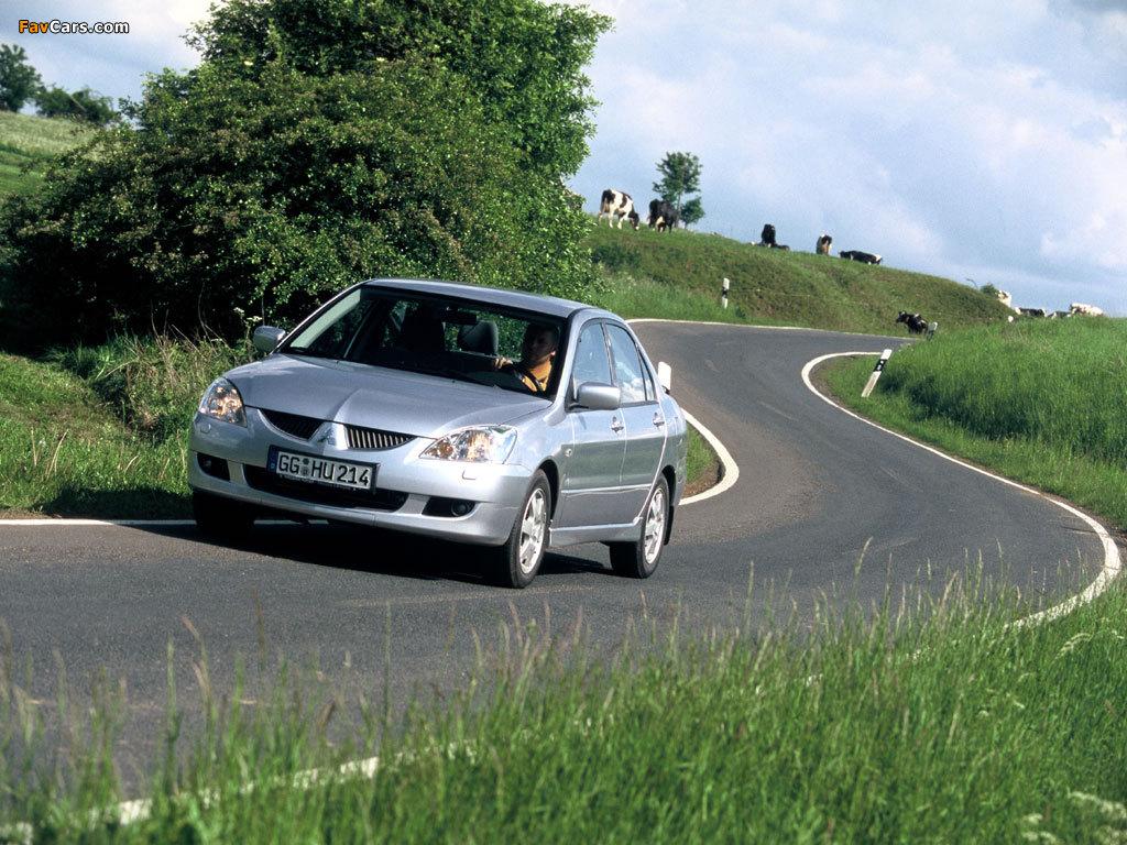 Mitsubishi Lancer 2003–05 images (1024 x 768)