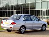 Mitsubishi Lancer UK-spec 2003–05 photos