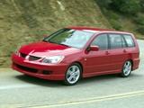 Mitsubishi Lancer Sportback 2003–05 pictures