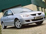 Mitsubishi Lancer UK-spec 2003–05 wallpapers