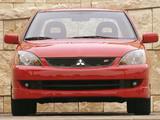 Mitsubishi Lancer Ralliart 2003–05 wallpapers