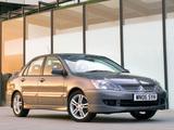 Mitsubishi Lancer Sport UK-spec 2005–07 photos