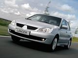 Mitsubishi Lancer 2005–10 wallpapers