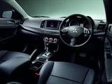 Mitsubishi Lancer UK-spec 2007 photos