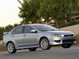 Mitsubishi Lancer GTS US-spec 2007 pictures