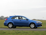 Mitsubishi Lancer Sportback UK-spec 2008 images