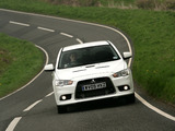 Mitsubishi Lancer Sportback Ralliart UK-spec 2008 images
