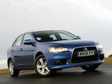 Mitsubishi Lancer Sportback UK-spec 2008 photos