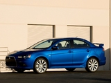 Mitsubishi Lancer Ralliart 2008 pictures