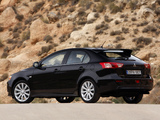 Mitsubishi Lancer Sportback 2008 wallpapers