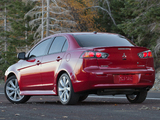 Mitsubishi Lancer GT US-spec 2012 wallpapers