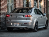 Mitsubishi Lancer Limited Edition North America 2017 wallpapers