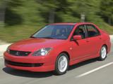 Photos of Mitsubishi Lancer Ralliart 2003–05