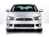 Photos of Mitsubishi Lancer GTS US-spec 2007