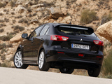 Photos of Mitsubishi Lancer Sportback 2008