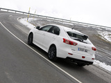 Photos of Mitsubishi Lancer Sportback Ralliart 2008
