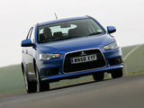 Photos of Mitsubishi Lancer Sportback UK-spec 2008