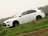 Photos of Mitsubishi Lancer Sportback Ralliart UK-spec 2008