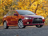 Photos of Mitsubishi Lancer GT US-spec 2012