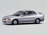 Pictures of Mitsubishi Lancer JP-spec 1995–97