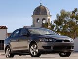 Pictures of Mitsubishi Lancer ES US-spec 2007