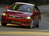 Pictures of Mitsubishi Lancer GTS US-spec 2007