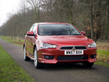 Pictures of Mitsubishi Lancer UK-spec 2007