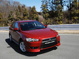 Pictures of Mitsubishi Lancer 2007–11