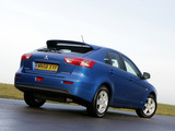 Pictures of Mitsubishi Lancer Sportback UK-spec 2008