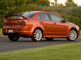 Pictures of Mitsubishi Lancer Ralliart 2008